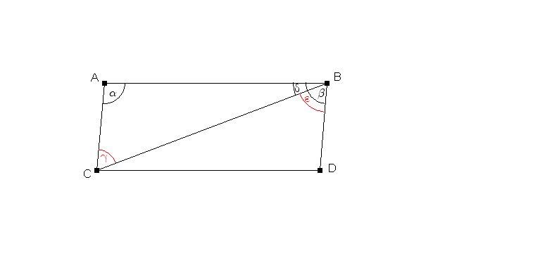 ZahlReich - Mathematik Hausaufgabenhilfe: Beweis Parallelogramm