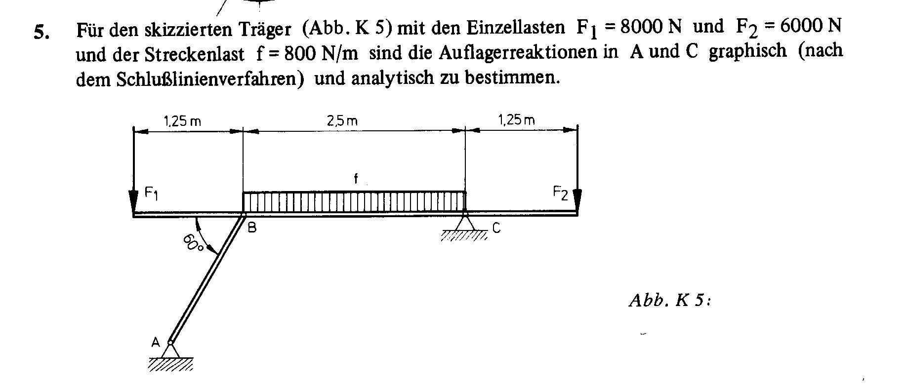 Zahlreich mathematik hausaufgabenhilfe technische for Statik balken berechnen
